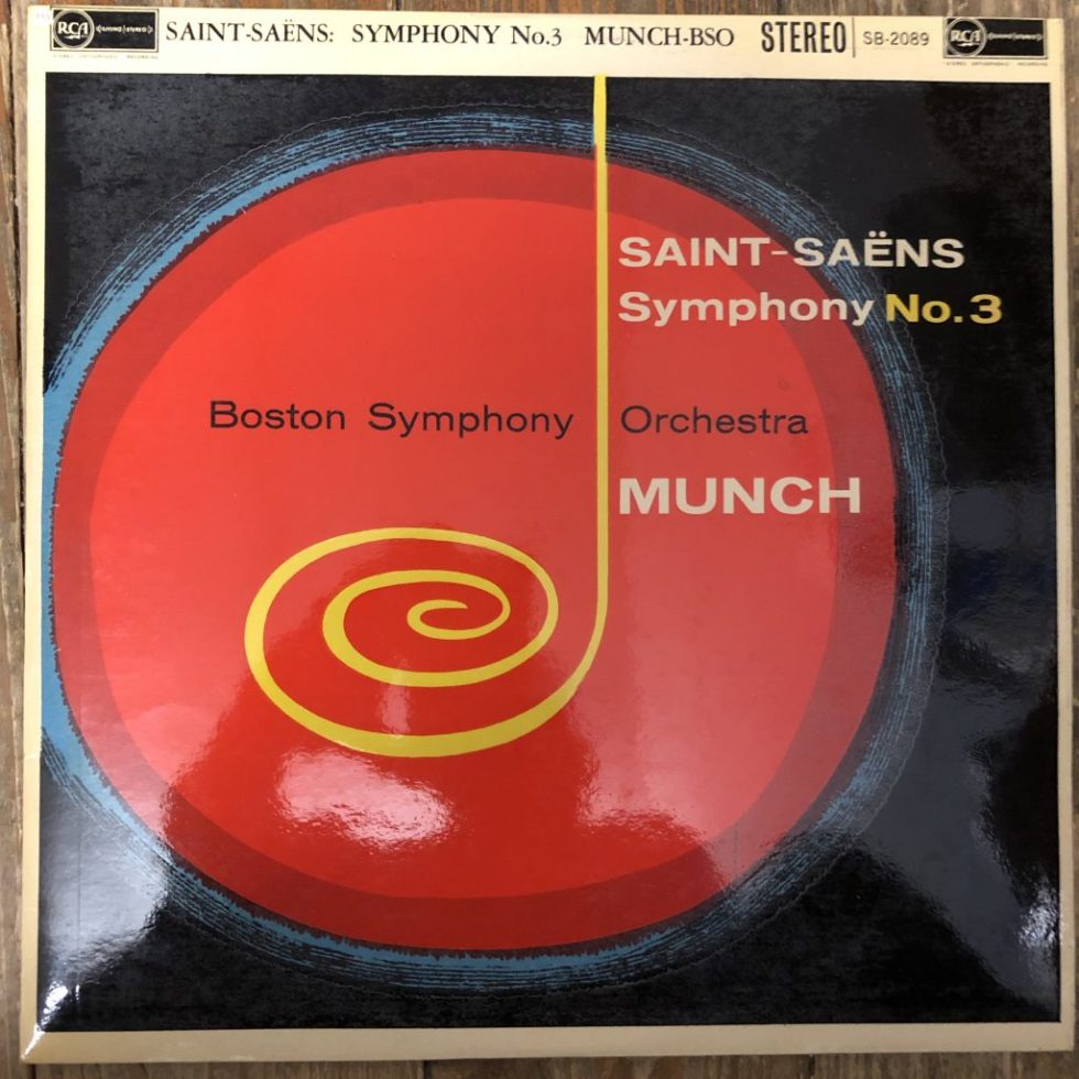 SB 2089 Saint-Saens Symphony No. 3