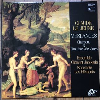 HMC 1182 Claude Le Jeune Meslanges