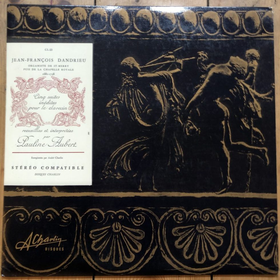 CL-23 Jean-François Dandrieu 5 Suites for Harpsichord