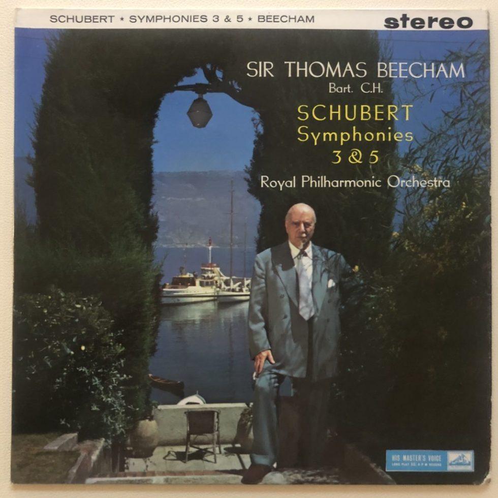 ASD 345 Schubert Symphonies 3 & 5 / Beecham / RPO W/G