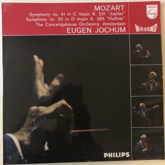 835 079 AY Mozart Symphony No. 35 'Haffner' & 41 'Jupiter'