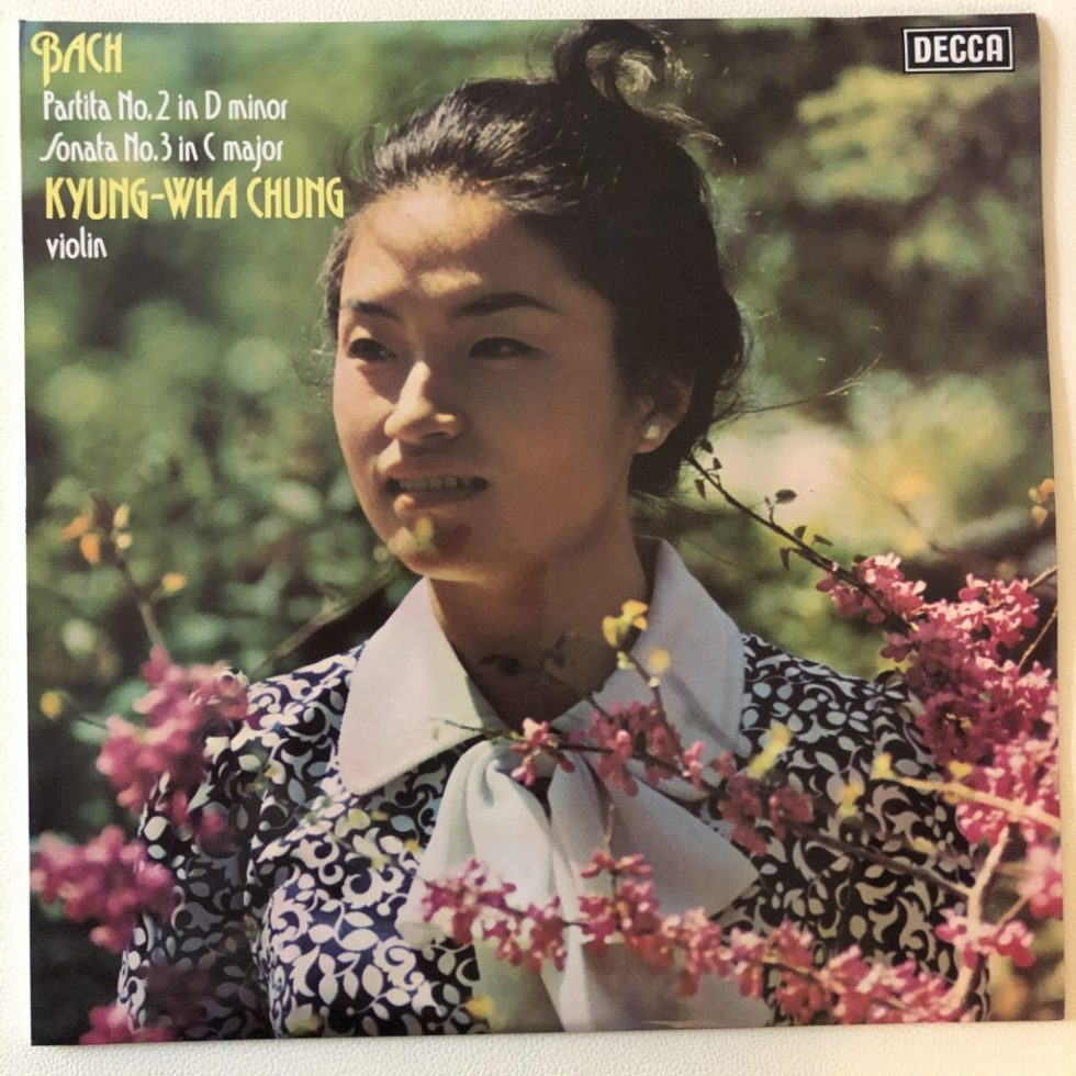 SXL 6721 Bach Partita No.2 & Sonata No.3 For Solo Violin Kyung-Wha Chung
