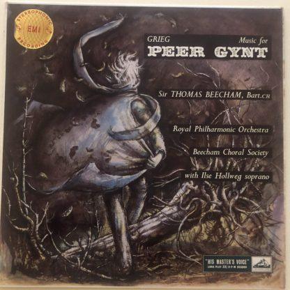 ASD 258 Grieg Music From Peer Gynt / Thomas Beecham / RPO W/G