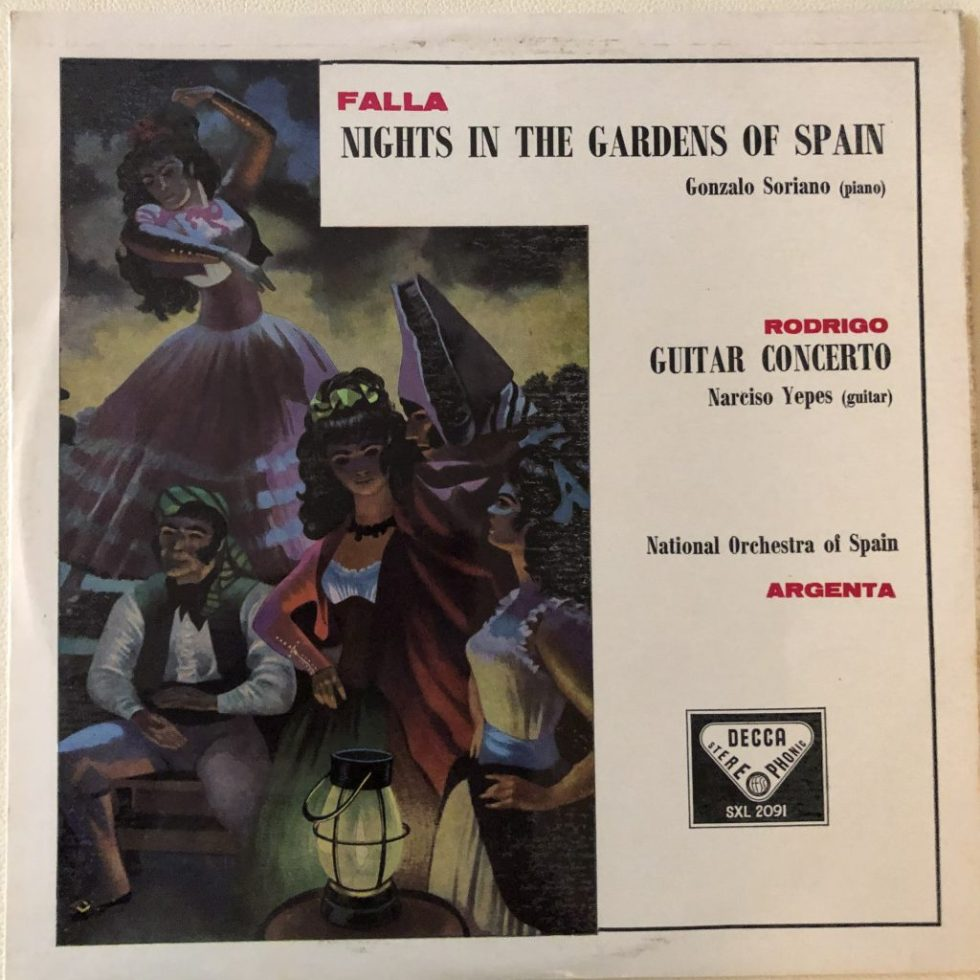 SXL 2091 Rodrigo Guitar Concerto / Falla Nights in the Garden of Spain