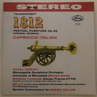 AMS 16010 Tchaikovsky 1812 Festival Overture / Capriccio Italien / Dorati P/S