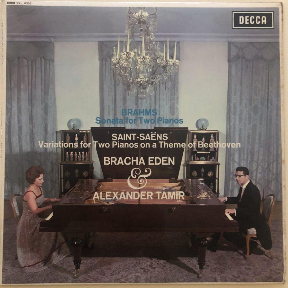 SXL 6303 Brahms Sonatas For Two Pianos Bracha Eden & Alexander Tamir