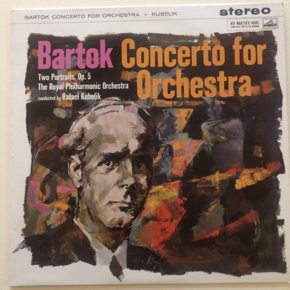 ASD 312 Bartok Concerto for Orchestra etc. / Kubelik / RPO W/G