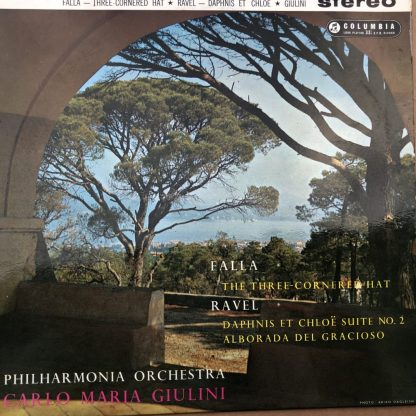 SAX 2341 Falla Three-Cornered Hat / Ravel Daphnis, etc. / Giulini B/S