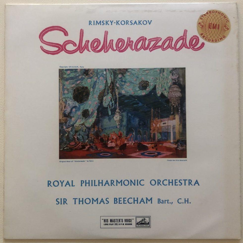 ASD 251 Rimsky-Korsakov Scheherazade / Beecham W/G