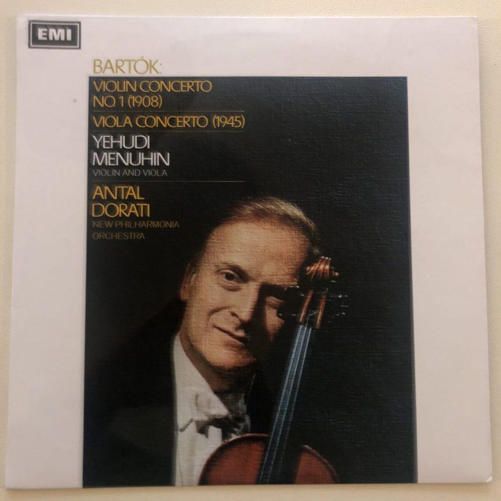 ASD 2323 Bartok Violin Concerto No. 1 etc. / Menuhin / Dorati S/C