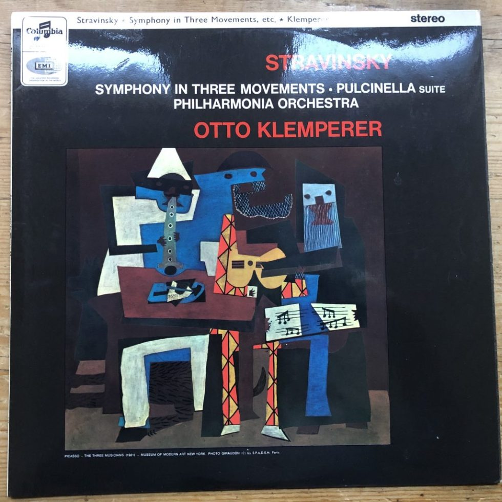 SAX 2588 Stravinsky Symphony in Three Movements etc. / Klemperer E/R