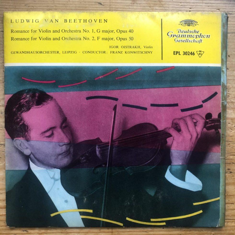 EPL 30246 Beethoven Violin Romances 1 & 2 / Igor Oistrakh / Konwitschny