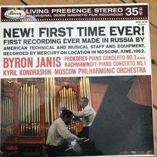AMS 16130 Prokofiev & Rachmaninoff Piano Concertos / Byron Janis / Kondrashin P/S