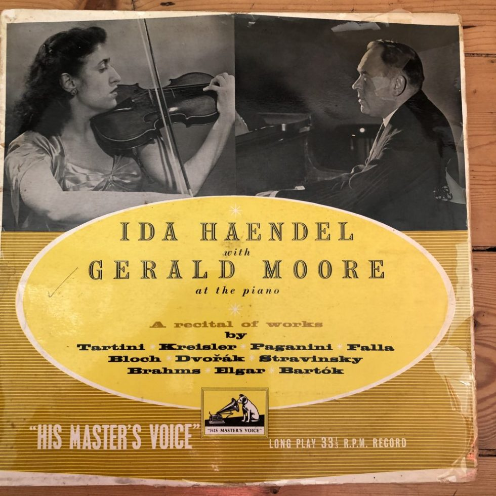 CLP 1021 A Violin Recital by Ida Haendel