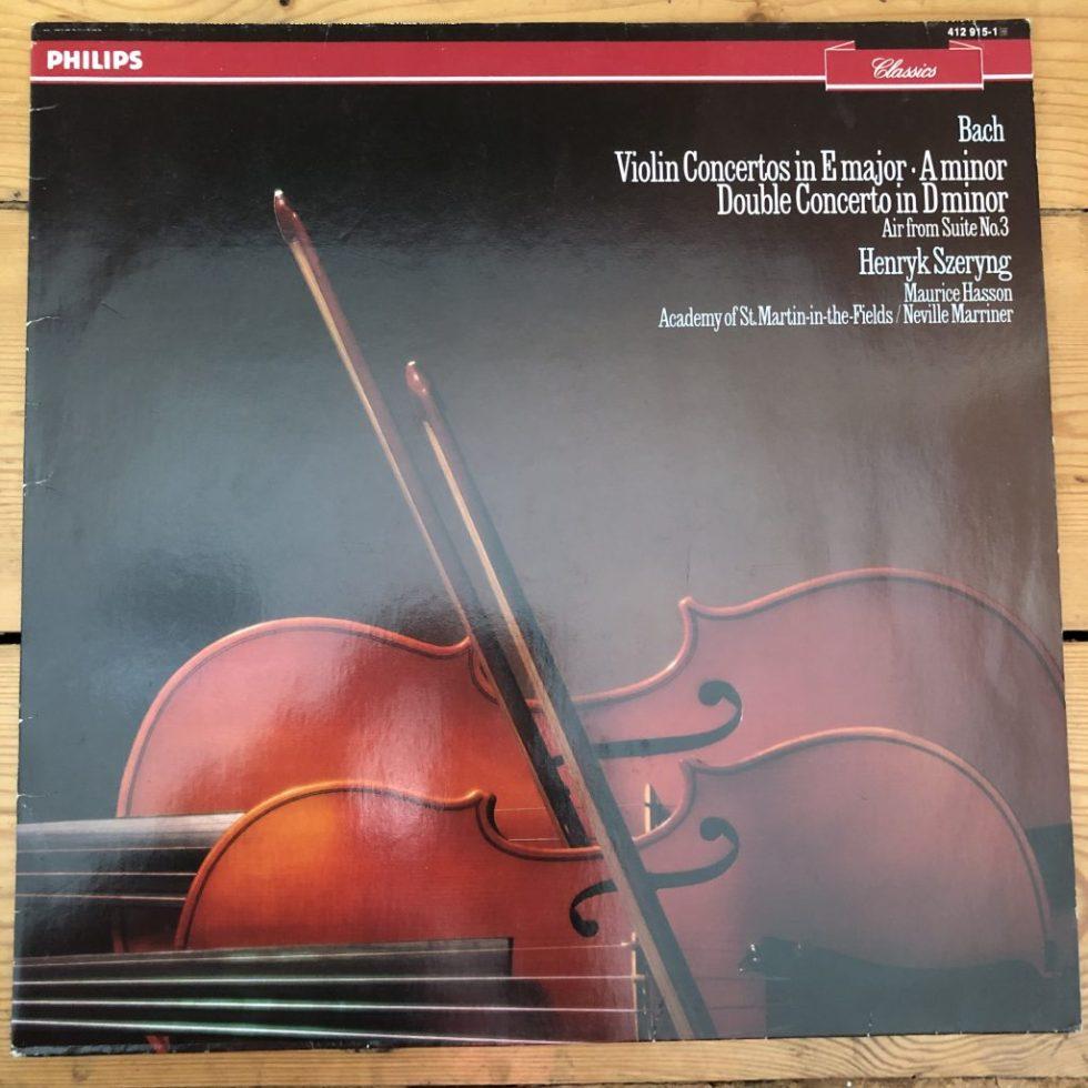 412 915-1 Bach Violin Concertos