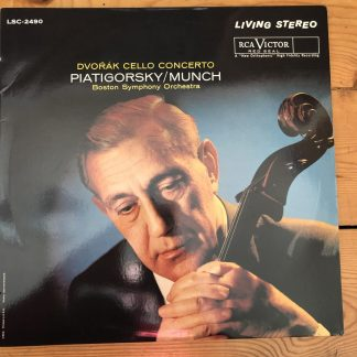 LSC 2490 Dvorak Cello Concerto / Piatigorsky