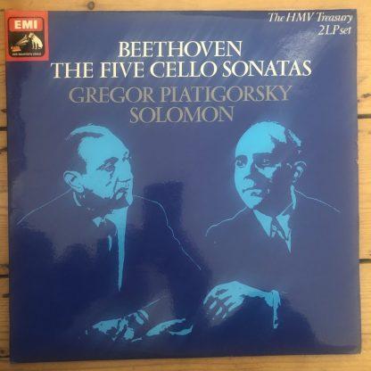 RLS 731 Beethoven Cello Sonatas / Piatigorsky / Solomon