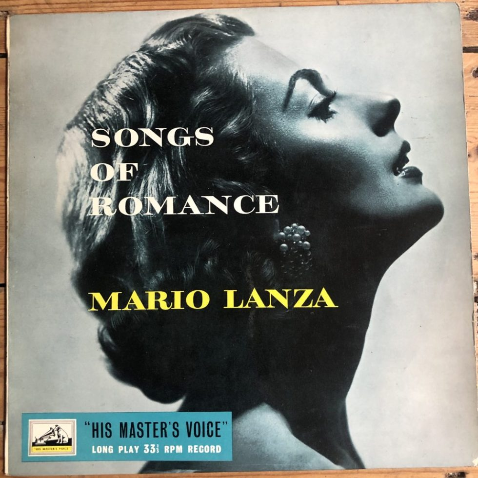 BLP 1071 Songs of Romance / Mario Lanza