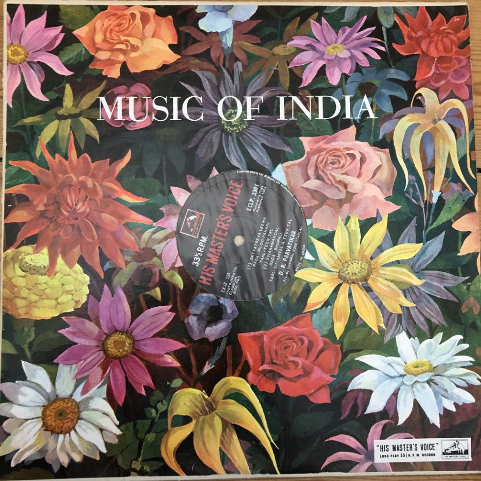 ECLP 2301 Music of India - D. R. Parvatikar