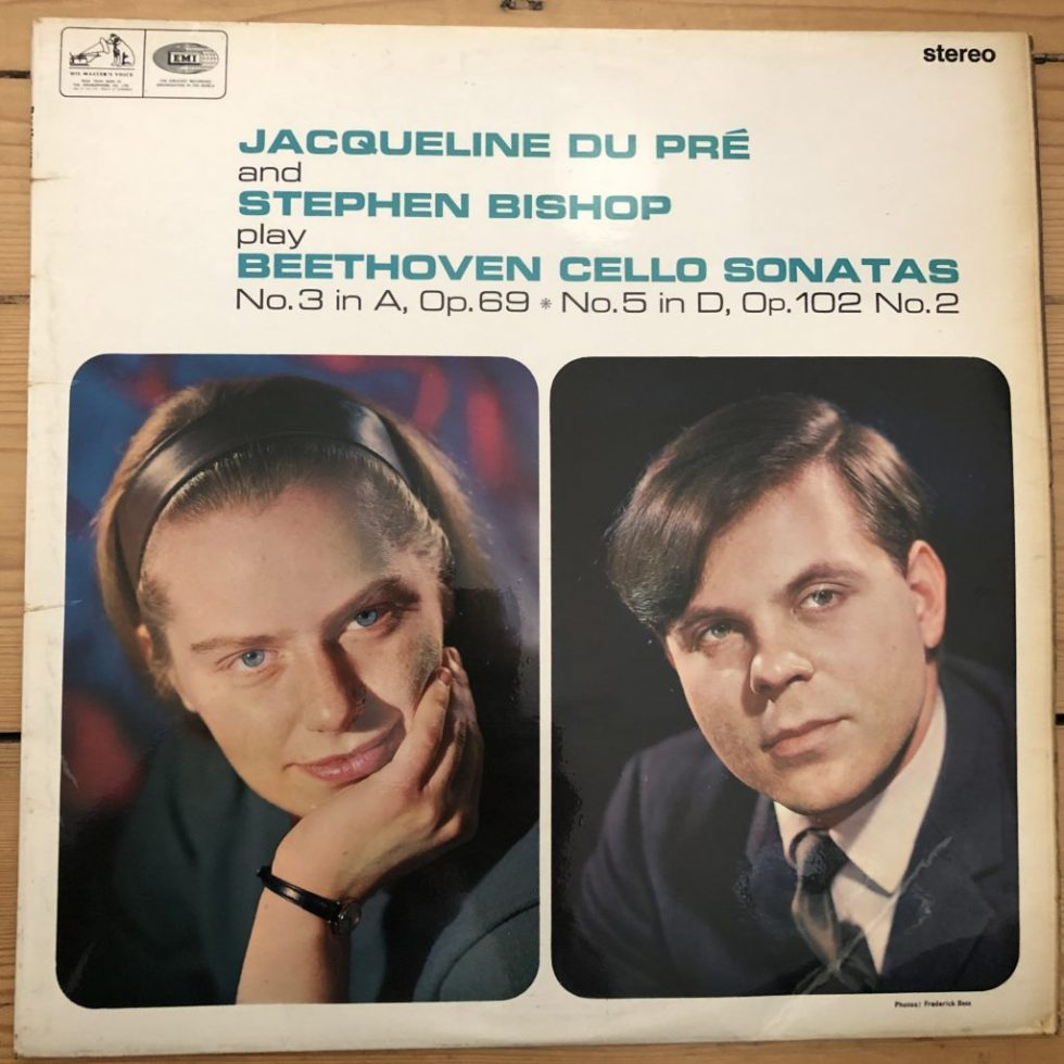 HQS 1029 Beethoven Cello Sonatas Nos. 3 & 5 Jacqueline Du Pre & Stephen Bishop
