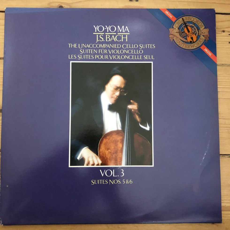 IM 39509 Bach Cello Suites Vol. 3 (Nos. 5 & 6) Yo-Yo Ma
