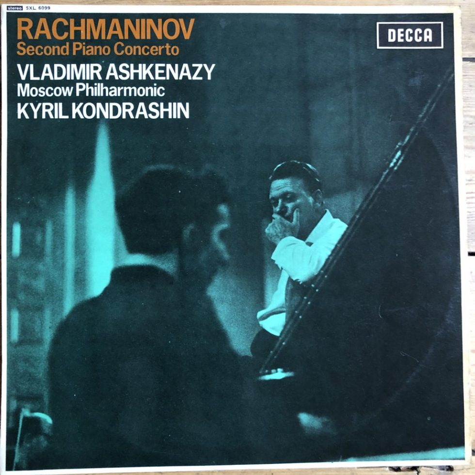 SXL 6099 Rachmaninov Piano Concerto No. 2 /