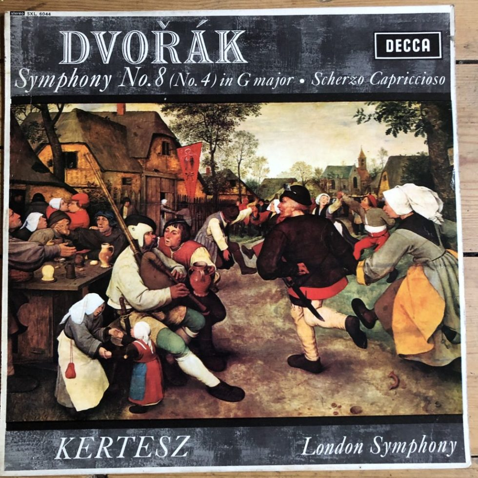 SXL 6044 Dvorak Symphony No. 8 etc. / Kertesz W/B
