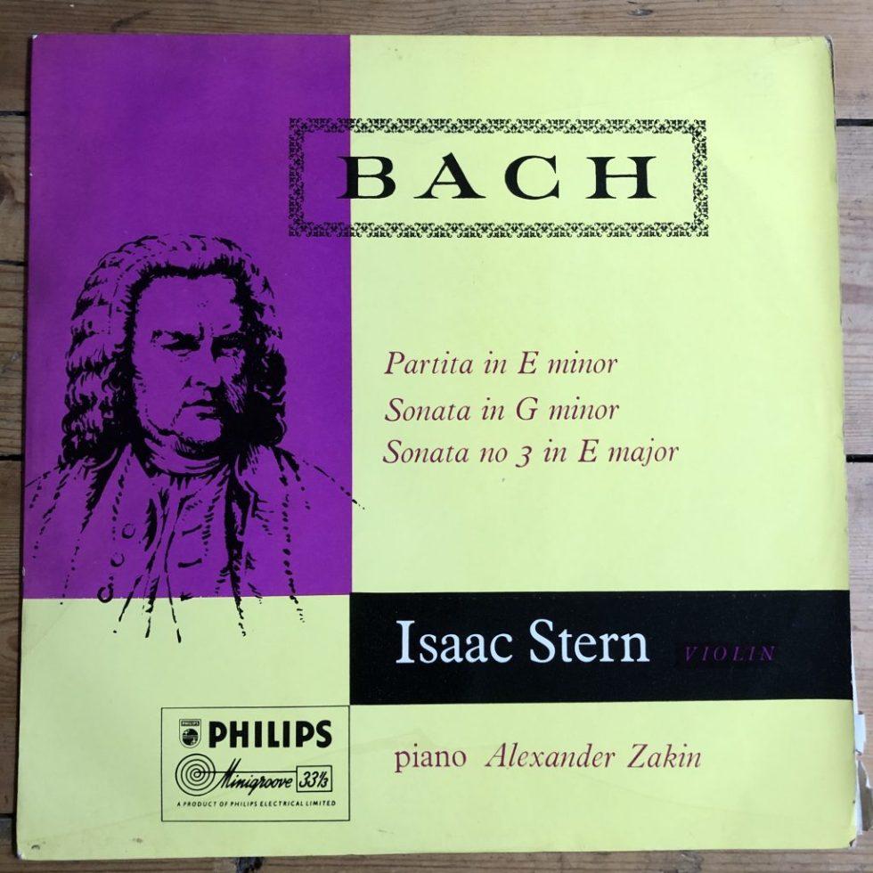 ABL 3011 Bach Partita in E Minor, Violin Sonatas / Isaac Stern / Aleander Zakin