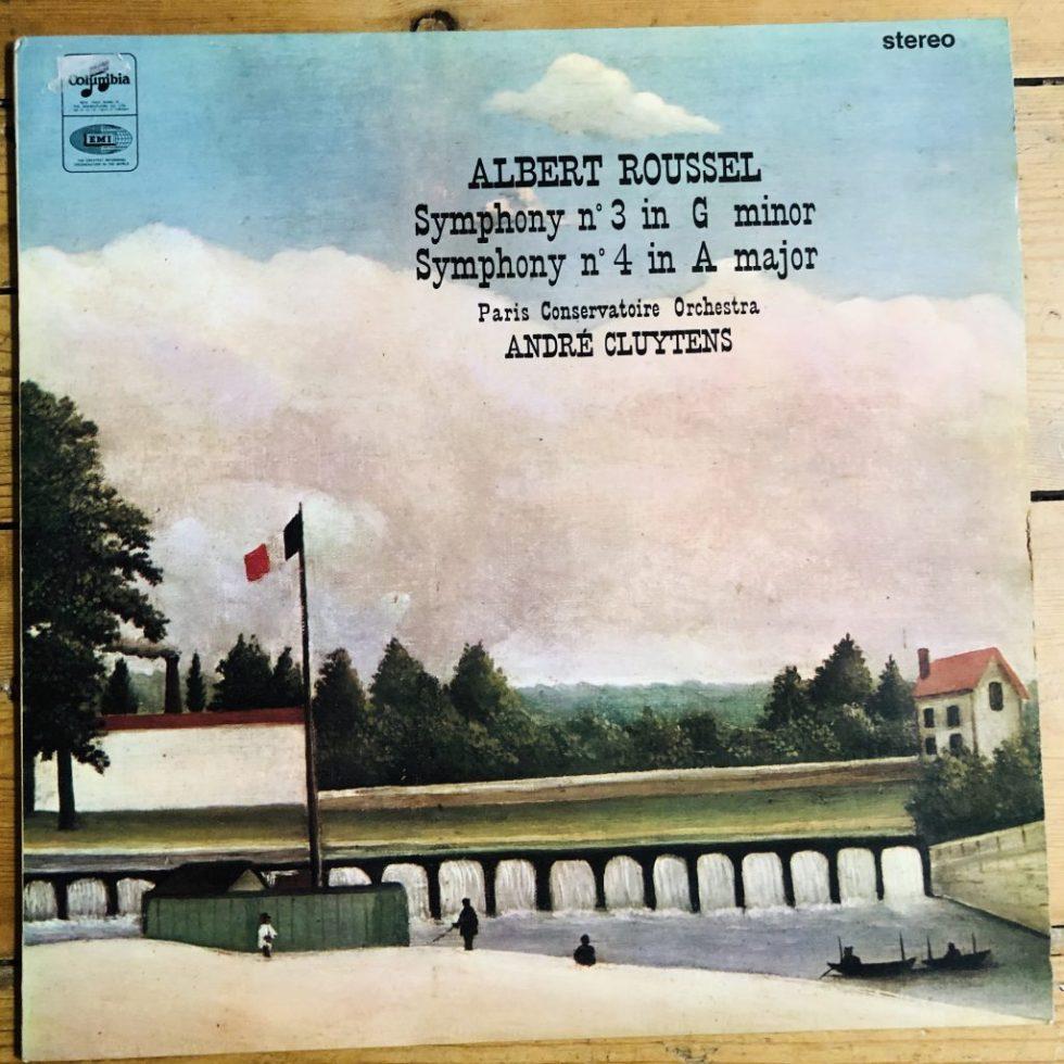 SAX 5251 Albert Roussel Symphonies No. 3 & 4 / Cluytens PCO E/R