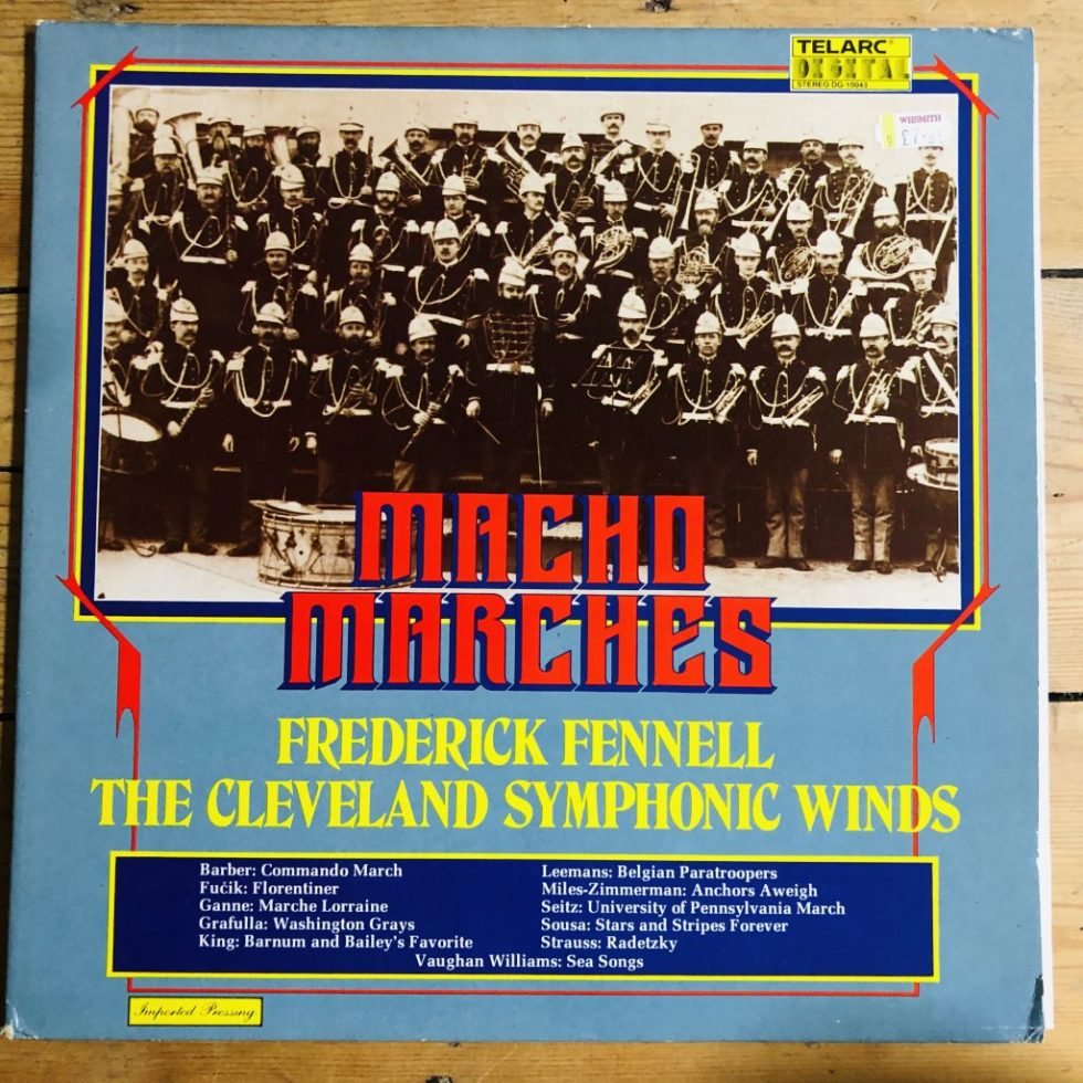 Telarc DG-10043 Macho Marches / Fennell / Cleveland Symphonic Winds