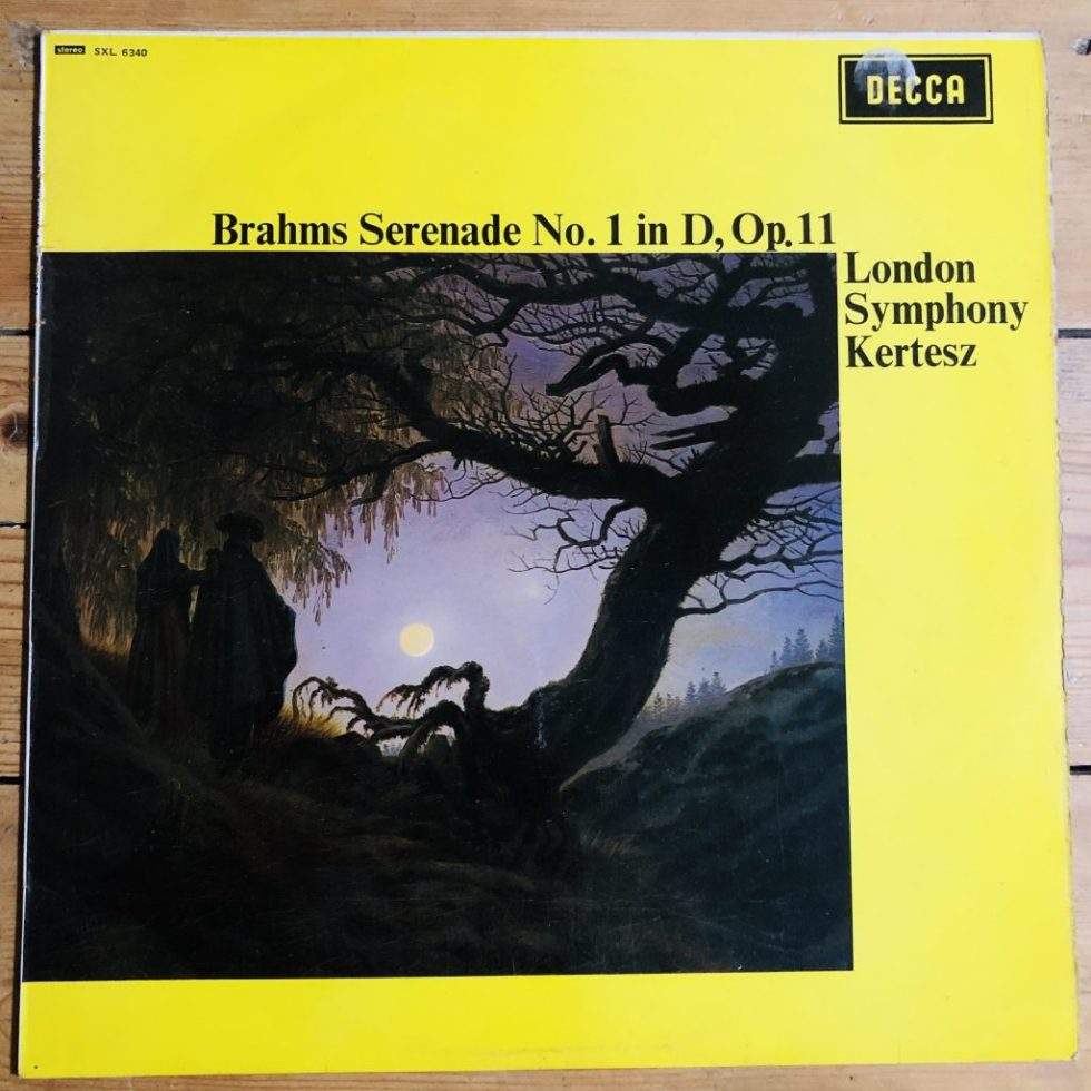 SXL 6340 Brahms Serenade No. 1 in D, Op. 11
