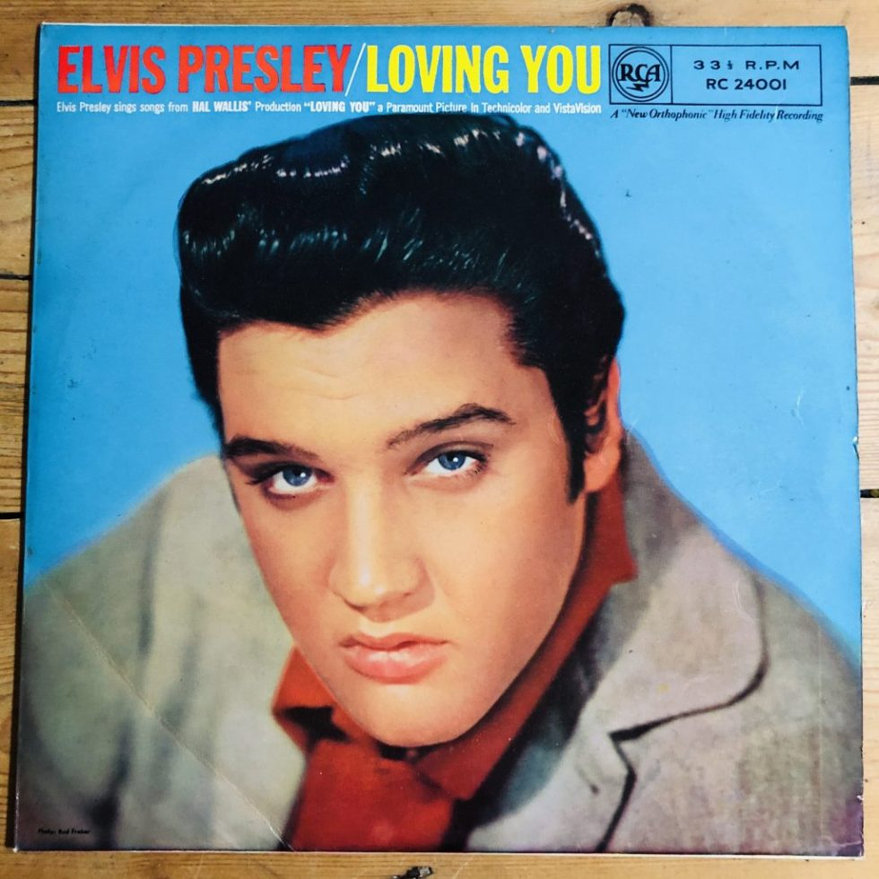 "RC 24001 Elvis Presley - Loving You - 1957 10"" LP"