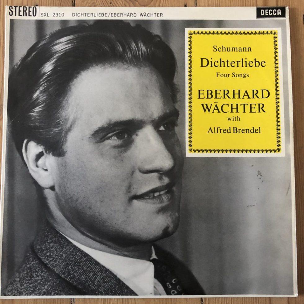 SXL 2310 Schumann Dichterliebe etc. / Wachter / Brendel W/B