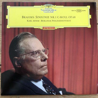 138 113 Brahms Symphony No. 1 / Bohm / BPO TULIP