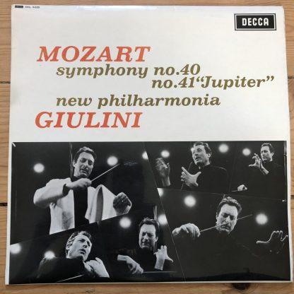 SXL 6225 Mozart Symphonies Nos. 40 & 41 'Jupiter' / Giulini W/B