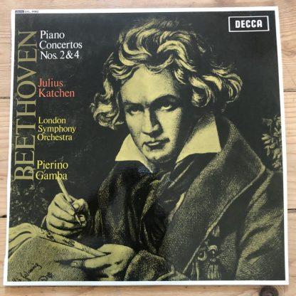 SXL 6082 Beethoven Piano Concerto No. 2 / Katchen / Gamba / LSO W/B