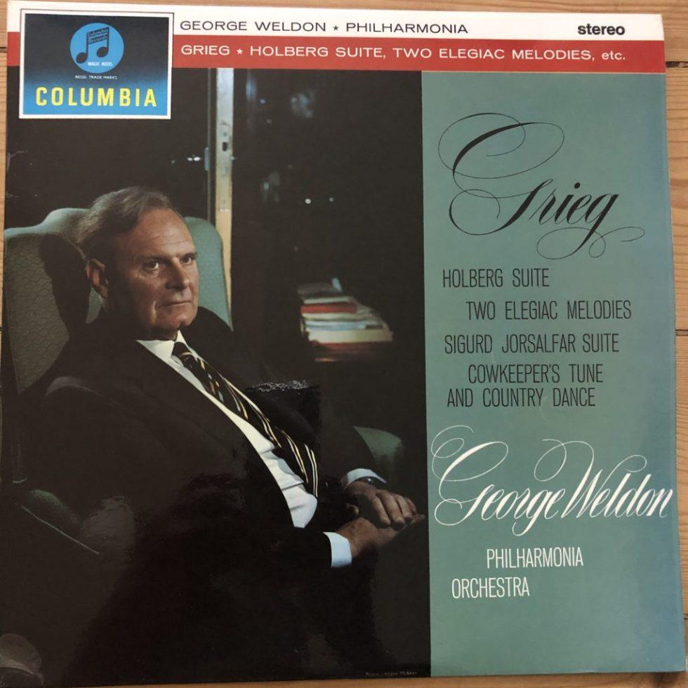 SCX 3416 Grieg Holberg Suite etc. / Weldon G/S