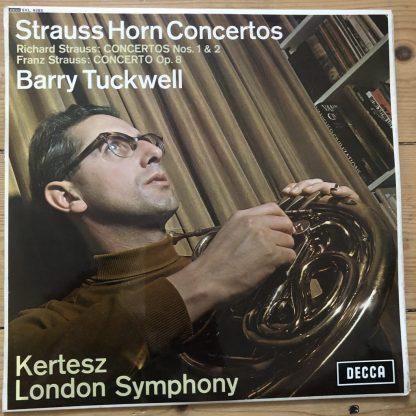SXL 6285 Strauss Horn Concertos / Tuckwell / Kertesz W/B