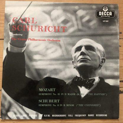 LXT 5257 Mozart / Schubert Symphonies / Schuricht