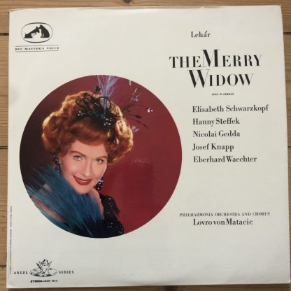 SAN 101-2 Lehar The Merry Widow