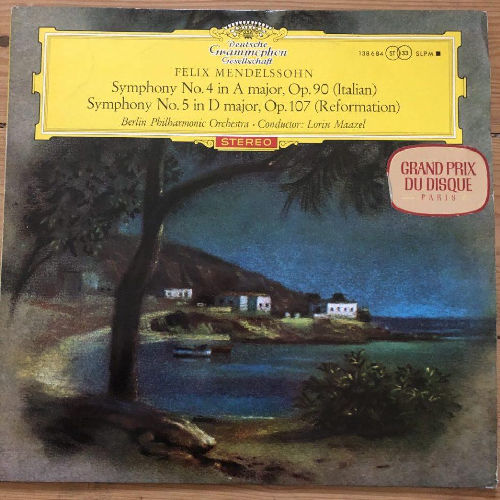 138 684 Mendelssohn Symphony Nos. 4 & 5