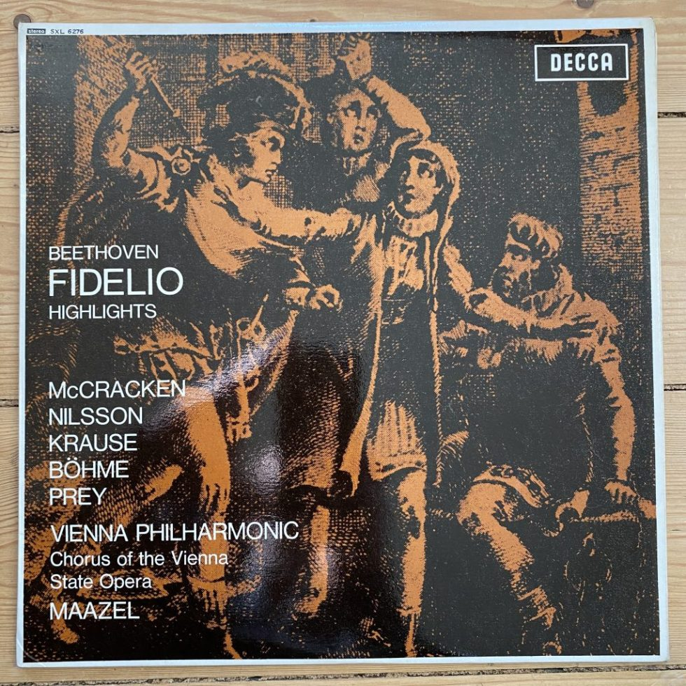 SXL 6276 Beethoven Fidelio Highlights / Maazel W/B