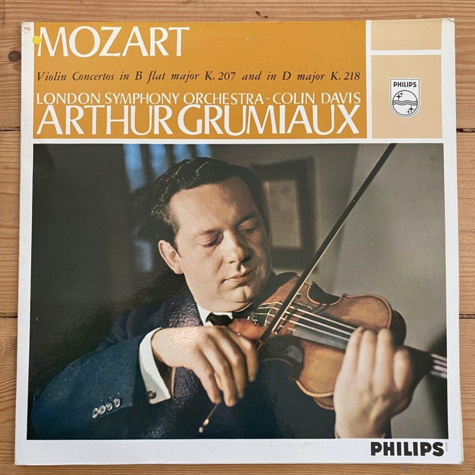 SAL 3440 Mozart Violin Concertos 1 & 4 / Arthur Grumiaux