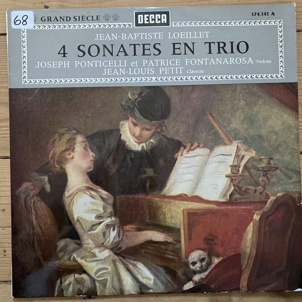 174.142 Jean-Baptiste Loeillet 4 Sonates En Trio