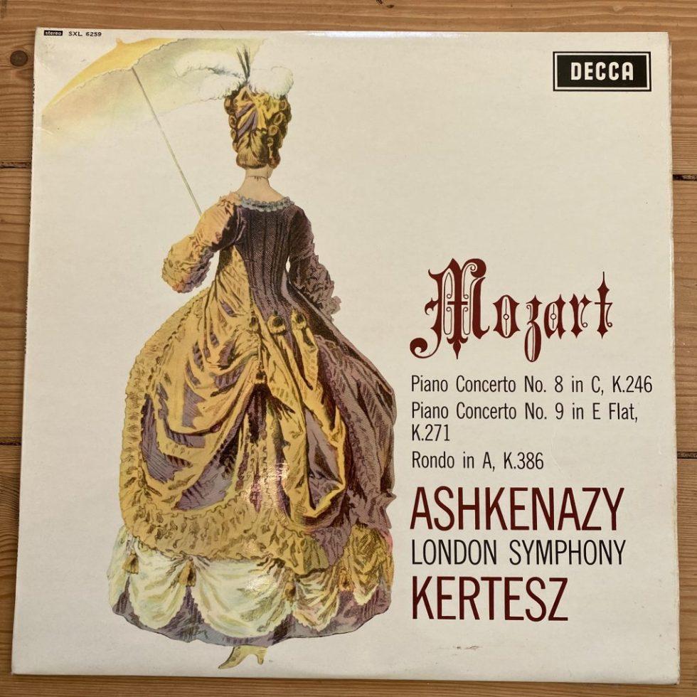 SXL 6259 Mozart Piano Concertos Nos. 8 & 9
