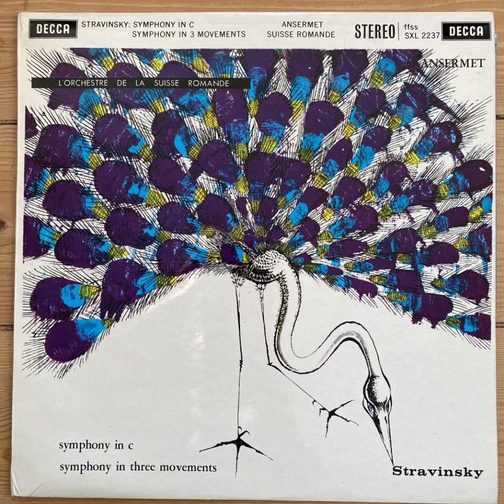 SXL 2237 Stravinsky Symphony in C