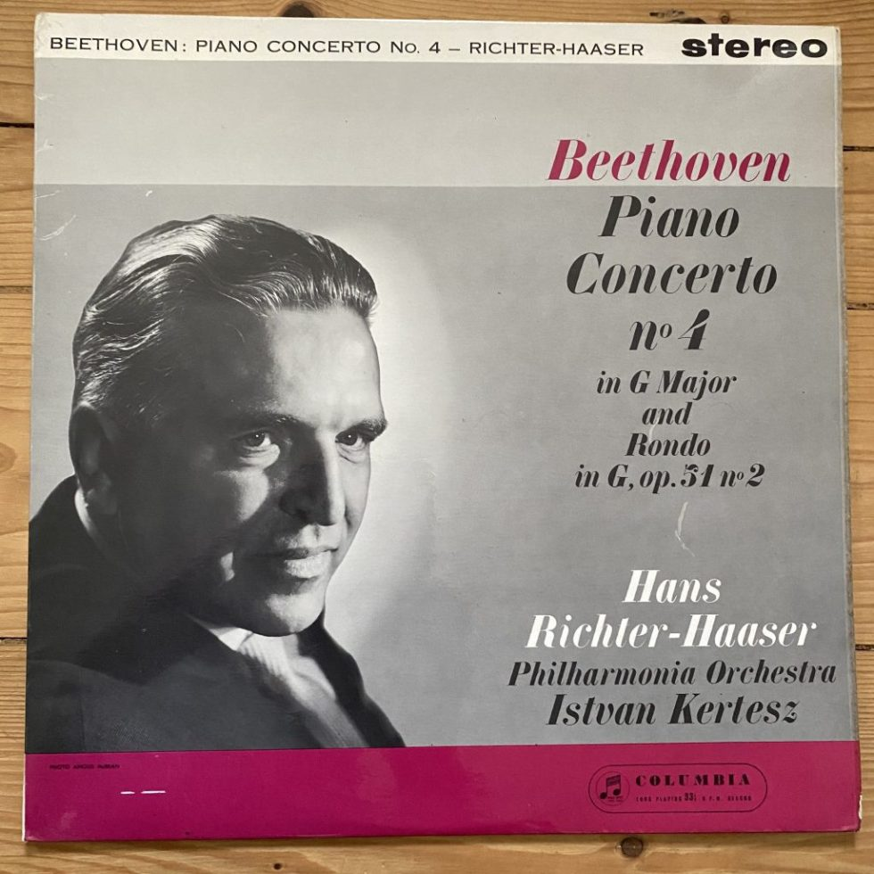SAX 2403 Beethoven Piano Concerto No. 4, etc. / Richter-Haaser