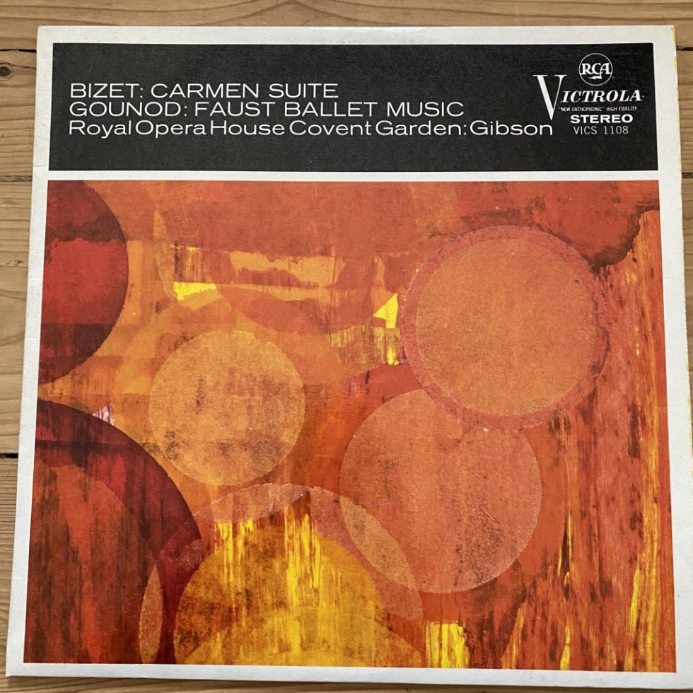 VICS 1108 Bizet Carmen Suite / Gounod Faust Ballet Music / Gibson