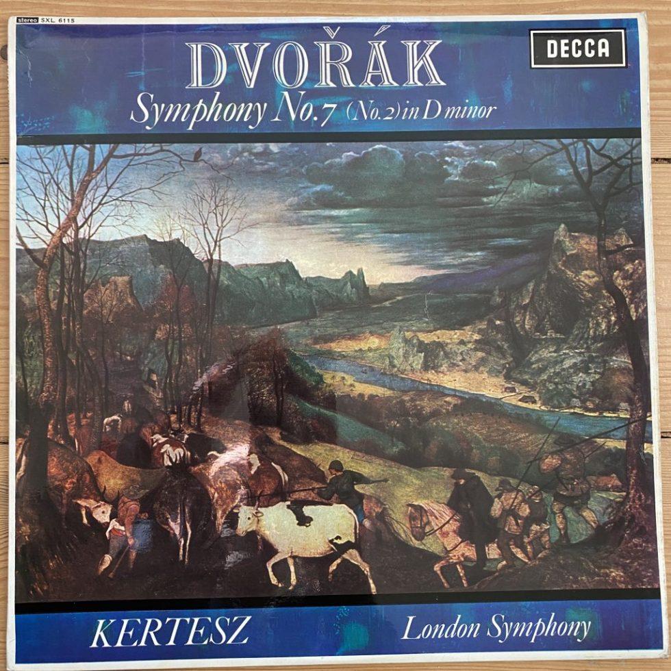 SXL 6115 Dvorak Symphony No. 7 / Kertesz W/B