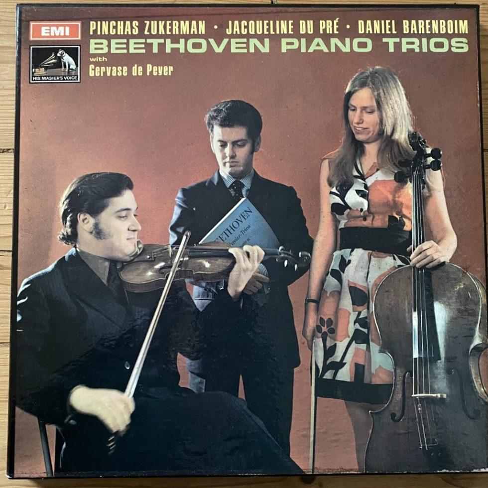 SLS 789/5 Beethoven Piano Trios / Zukerman / du Pre